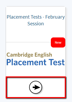 Cambridge English Placement Test (CEPT) - Candidate Test Experience